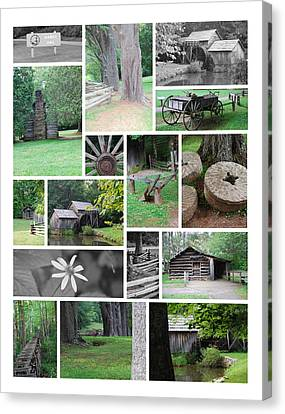 Mabry Mill Canvas Print by Eric Liller