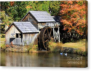 Mabry Mill Canvas Print by Lena Auxier