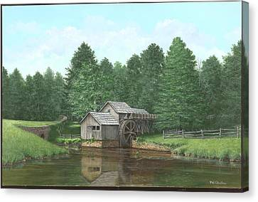 Mabry Mill Summer Canvas Print