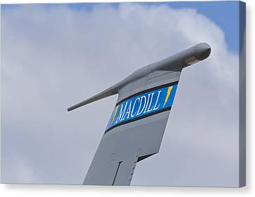 Macdill Mobile Gas Station Canvas Print