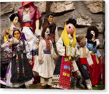 Macedonian Dolls Canvas Print by Rae Tucker