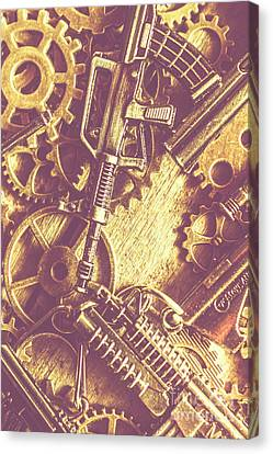Machine Guns Canvas Print