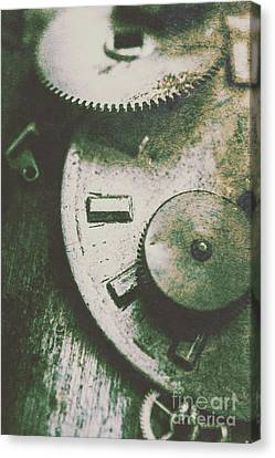 Machinery From The Industrial Age Canvas Print