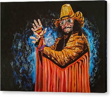 Macho Man Randy Savage Canvas Print