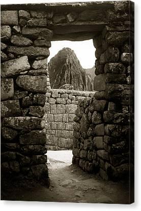 Machu Picchu Canvas Print by Amarildo Correa