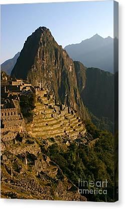 Machu Picchu At Dawn Canvas Print by Matt Tilghman