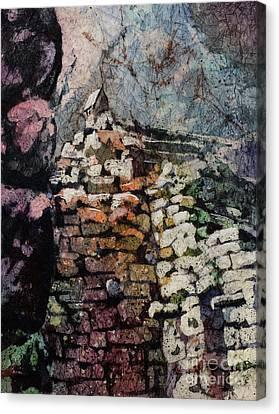 Machu Picchu Ruins- Peru Canvas Print by Ryan Fox