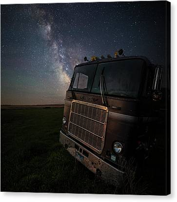 Canvas Print featuring the photograph Mack by Aaron J Groen