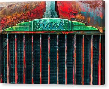 Mack Grill Canvas Print by Steven Maxx