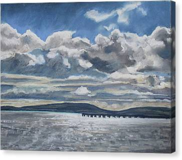 Canvas Print - Mack Point, Searsport by Grace Keown