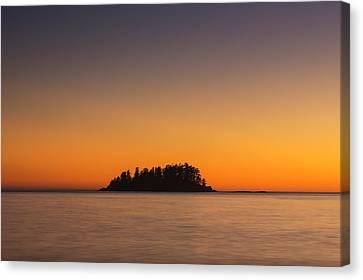 Mackenzie Beach Sunset Canvas Print by Mark Kiver