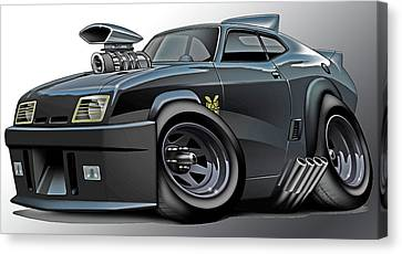 Mad Max Falcon Interceptor Canvas Print by Maddmax
