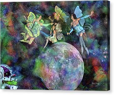 Mad Wicked Fun Canvas Print by Betsy Knapp