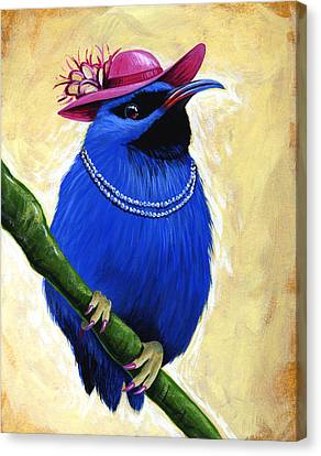 Madame Canvas Print by Amy Giacomelli