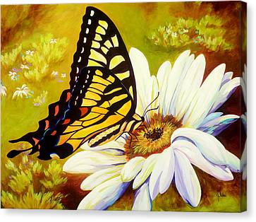 Madame Butterfly Canvas Print by Karen Dukes