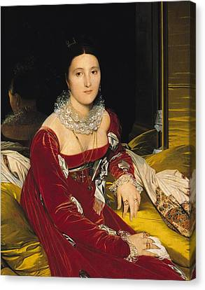 Ingres Canvas Print - Madame De Senonnes by Ingres