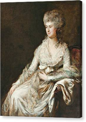 Madame Lebrun Canvas Print by Thomas Gainsborough