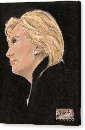 Madame President Canvas Print by P J Lewis