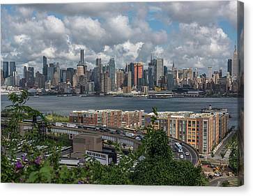 Made For New York The Skyline Canvas Print by Terry DeLuco