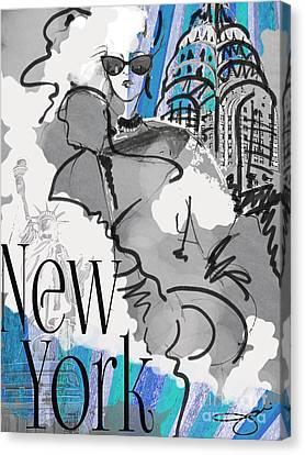 Made In Manhattan Canvas Print by Jodi Pedri