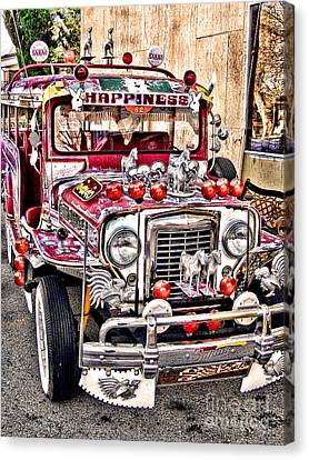 Made In The Philippines Canvas Print by Jason Abando