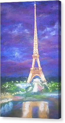 Madelein's France Canvas Print by Becky Chappell