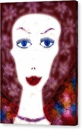 Mademoiselle Canvas Print by Frank Tschakert