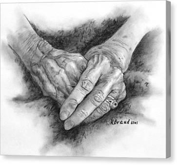 Madges Hands Canvas Print
