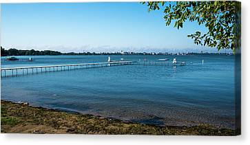 Canvas Print - Madison Capitol Across Lake Mendota 2 by Steven Ralser