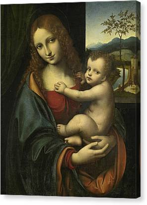 Madonna And Child Canvas Print by Giampietrino