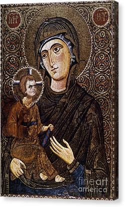 Madonna Icon Canvas Print by Granger