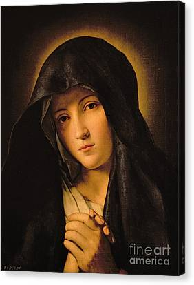 Madonna Canvas Print - Madonna by Il Sassoferrato