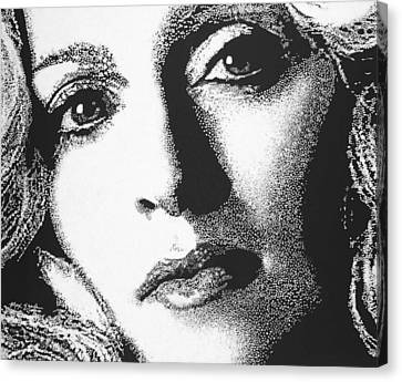Madonna Canvas Print by Max Eberle