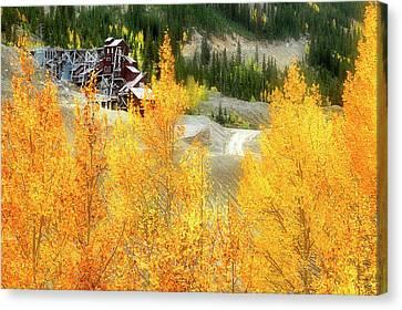 Canvas Print featuring the photograph Madonna Mine - Monarch Pass - Colorado by Jason Politte