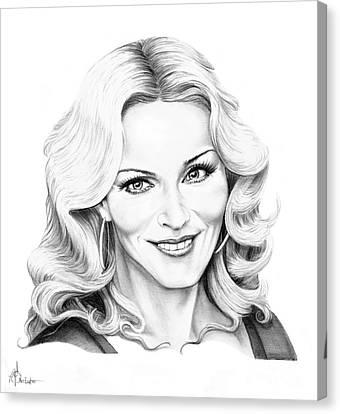 Madonna Canvas Print by Murphy Elliott