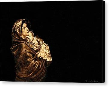 Madonnina Canvas Print by Dino Muradian