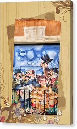 Madrid Wall Art Canvas Print by Joan Carroll