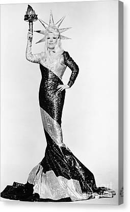 Mae West (1892-1980) Canvas Print by Granger