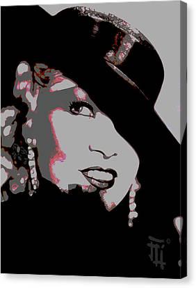 Mae West Canvas Print by  Fli Art