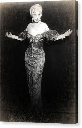Mae West Sketch Canvas Print by Quim Abella