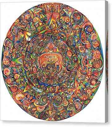 Maeyea Canvas Print by Jonathan 'DiNo' DiNapoli