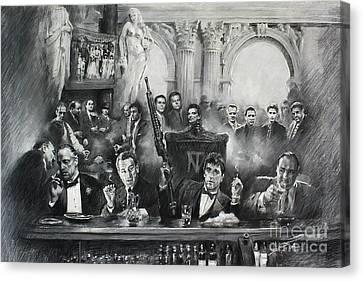 Mafia Canvas Print by Mafia