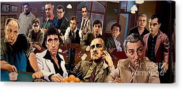 Sopranos Canvas Print - Mafia by Mafia