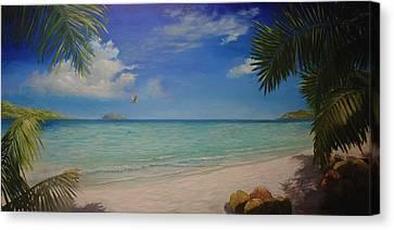 Magens Bay Canvas Print