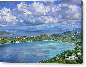 Magens Bay  Canvas Print by Olga Hamilton