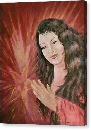 Magic - Morgan Le Fay Canvas Print