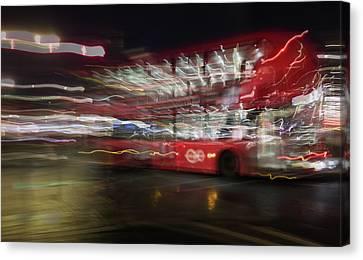 Canvas Print featuring the photograph Magic Bus by Alex Lapidus