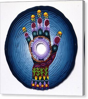 Magic Hand Canvas Print by Arla Patch