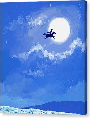 Magic Horse Canvas Print by Angus McBride