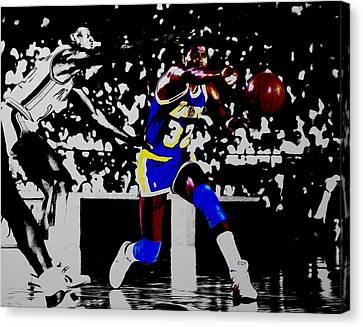 Magic Johnson Bounce Pass Canvas Print